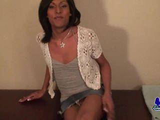 Newcomer Latina Beauty Jenessa Hart(Shemale porn)