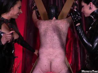 Mistress Tangent, Cybill Troy – Wild Whipping - spanking - femdom porn bdsm lust