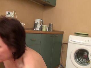 Mila masturbates on bdsm porn monster bdsm
