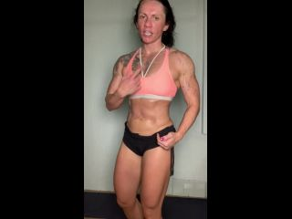 Muscle Goddess Workout Inspiration Nude Bodybuilder
