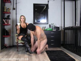 Morning Boot Worship - Mistress Courtneys!!!