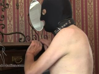 Leather – SADO LADIES Femdom Clips – Whipping The Sniffer – Mistress Akella - sado ladies femdom clips - bdsm porn jav porn bdsm