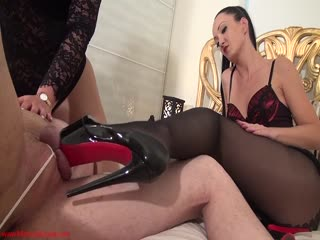fetish lady anja lesbian girls | Mistress Ezada Sinn, Fetish Liza – Tortured and ruined by high heels | boot fetish