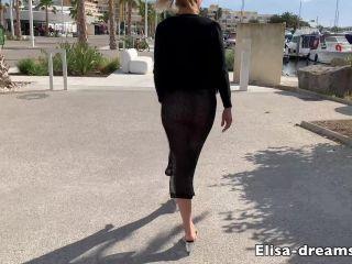 3021 Elisa Dreams - Sex Challenge 2019 - New Bukkake to the beach 26. ...