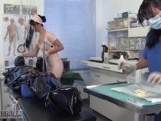 Private-Patient – Flushing 01 – Medical Femdom – Female Domination, 2 Layers | mummification | fetish porn happy femdom