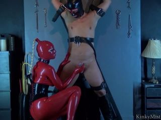 Femdom – KinkyMistresses – Latex Lucy Used At The Cross – Complete Film Starring Latex Lucy