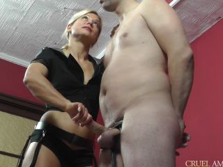 Mistress Zita-Spoiled in a cock sqeezer SD