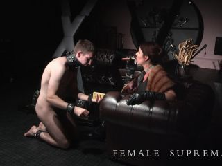 Female Supremacy - Baroness Essex - cock crush on bdsm porn