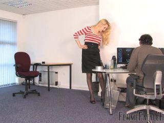 Femme Fatale Films - Busted - Eleise de Lacy - Complete Films - Ballbusting - femdom - fetish porn dutch femdom