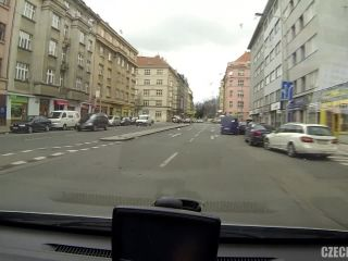 Czech Taxi - Student squirts like a fountain