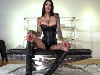 Mistress Damazonia - Amazon's Cum Dump!!!