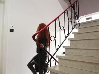 7965 Latex Catsuit, Rubber Gimp, Leather Sex Video 13