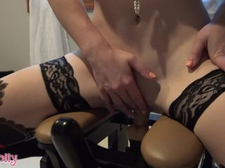 Mollydoll Red Lingerie And Riding