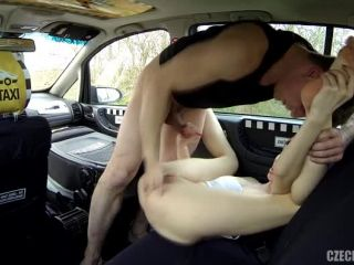 Student squirts like a fountain   Czech Taxi 25