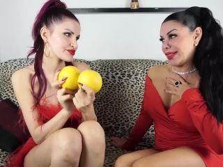 Alisha Griffanti Aka Lady Mesmeratrix - Double Dommes Ballbusting Demo ...