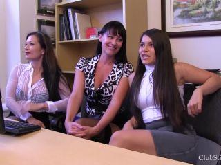 Toilet Slavery – Club Stiletto FemDom – The Office Job Competition – Mistress Kandy, Mistress Meana, and Miss Jasmine on lesbian girls fetish fatale