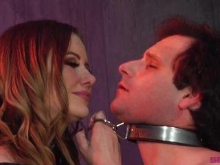 Severe Sex Films - Maitresse Madeline Marlowe - Maitresse Madeline breaks Marcelo Part 1 | strapon sucking | anal porn granny anal