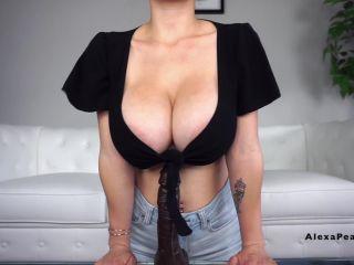 Busty Alexa Pearl - My First BBC GF Humiliation Titfuck