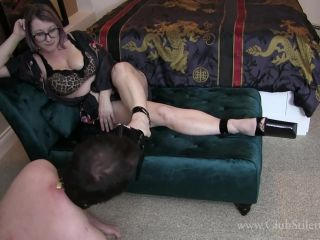 """HER HUMILIATED FOOT SLAVE"" (FOOT WORSHIP, SHOE WORSHIP)"