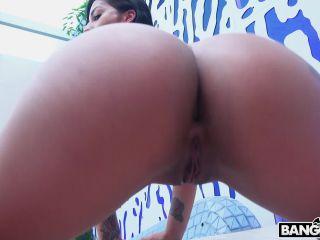 Spanish Booty Girl Takes Huge Dick - Mariana Martix on brunette girls porn hottest porn video hardcore