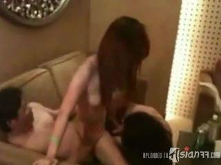 amateur redhead porn Two Pretty Amateur Teens Getting Fucked On A Sofa – Asianff, amateur porn on amateur porn
