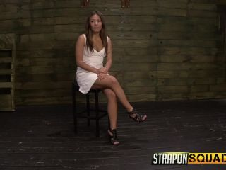 strapon squad: brooklyn daniels & ava kelly give smart mouth sex slave mena li more training