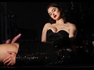 Bella Lugosi - Punished In Clingfilm