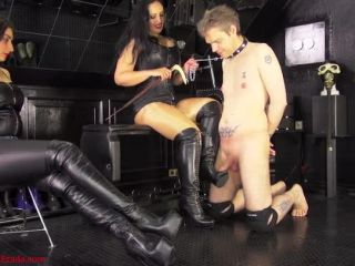 Leather Fetish – Mistress Ezada Sinn – Whore for Our boots – Lady Roberta