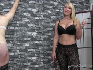 Сlubstiletto - Mistress Kandy - Sweaty Little Slut Flogged And Ordered To Eat Ass | сlubstiletto | femdom porn