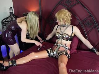 Double Domination – The English Mansion – Chastity Bound – Complete Film – Miss Jade Jones and Mistress Sidonia