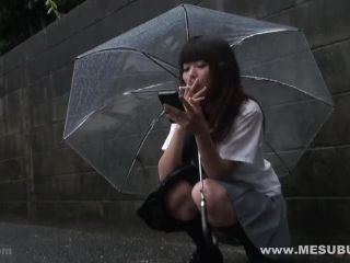 mesubuta-131101 723 01 Underage prevention of smoking / Miwa Ishida