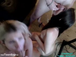 Chaturbate  JackplusJill  Private Foursome Show  Facial,Foursome,Handjob,Teen  Release (May 17, 2018)