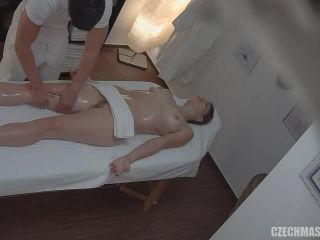 Czech Massage - Cute blonde gets a massage
