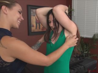 TickleAbuse - Topless Tickle Test