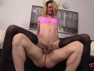 Jessica Lynne - tall slender makes her anal debut