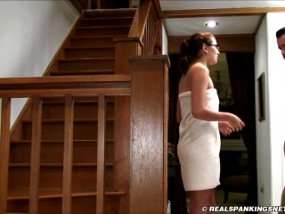 Title HD Abigail Spanked for not Doing Laundry