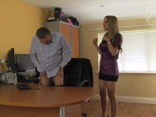 mistress nikki whiplash  wl 1253 office chastity tease  worship