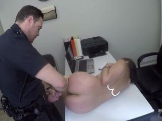 Bang! Screw The Cops presents Kim Torres Gets Out Of Getting Booked By Fucking The Intake Cop – 15.05.2019