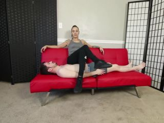 Torture Time – Sasha Foxxx –You Get What You Pay For –  Human Furniture – Foot Fetish, Female Domination