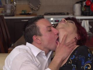 Karolina K. 57 - He prefers an older lady with a hairy pussy to fuck ...