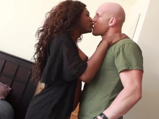 Watch TS Chanel Couture makes a military boy take her HUGE cock