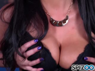 Anissa kate suck s dick and play with them between her huge tits