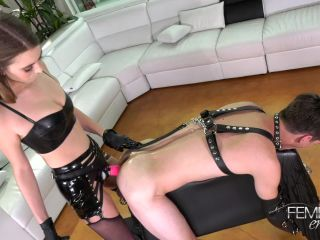 Online – VICIOUS FEMDOM EMPIRE – Princess's First Pegging – Princess Jill Kassidy