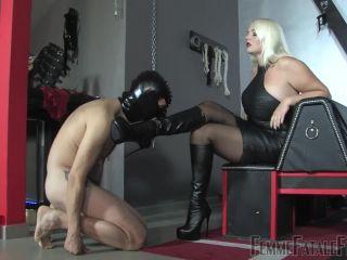 FemmeFataleFilms: Divine Mistress Heather - The Sissy Slut on blonde lesbian blondes brunettes