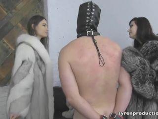 Atlanta Dungeon – Mistress Dominique Danger, Mistress UV, Mistress Marah – Spanked By The Fur Ladies