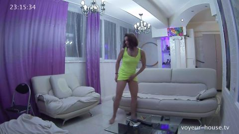 Voyeur-house.tv- Maria grisha living room fuck