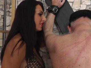 Corporal Punishment – MILANA – THE TORMENTING GODDESS – CANING KICKING TRAMPLING Starring Lady Milana