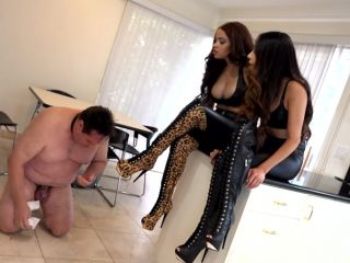 Boot Fetish – THE MEAN GIRLS – Stop Your Whining – Princess Bella and Princess Carmela