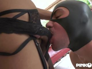 Online shemale video Mistress Jade and her slave to fuck