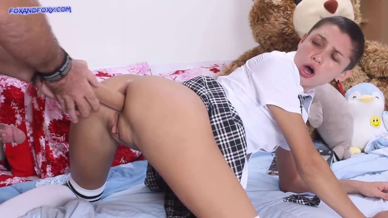 Naughty Step Daughter Punished
